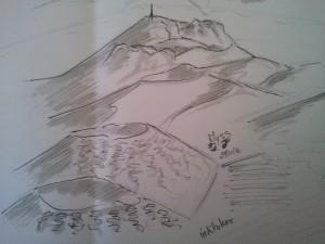 myss cc vu de haut du massif central
