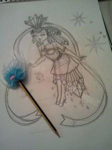 Myss cc Princesse Diancie