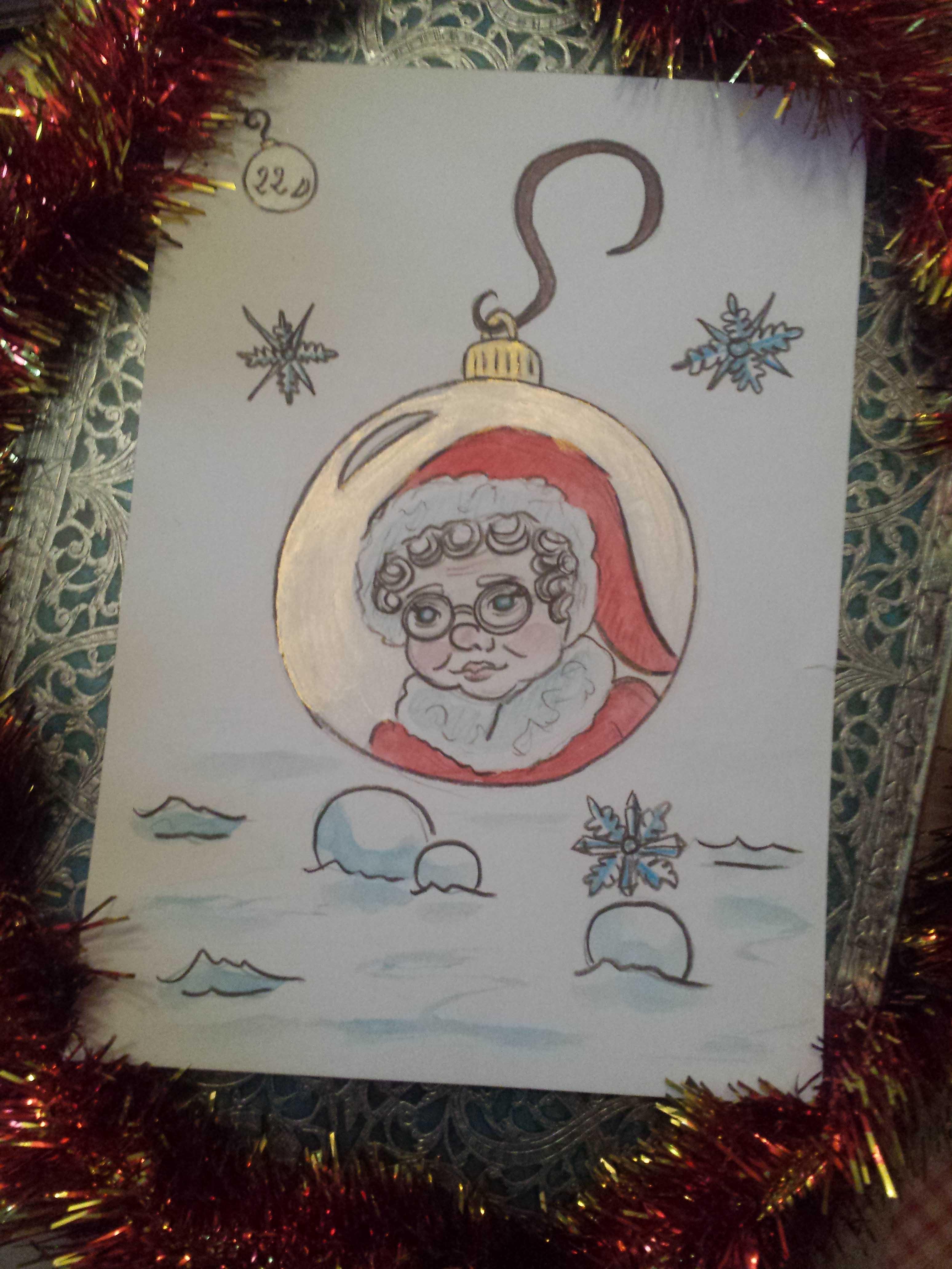 Mère Noël personnage important de Noël